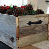 DIY Wood Holiday Box
