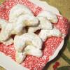 Danish Walnut Crescent Cookies