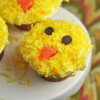 Easter Baby Chick Cupcakes