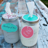 Chalk Paint Tissue Jar