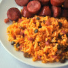 Puerto Rican Rice {Pigeon Peas with Ham}