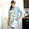 Simple DIY Apron With Dish Cloth