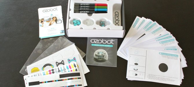 Ozobot Review- a STEM unit.