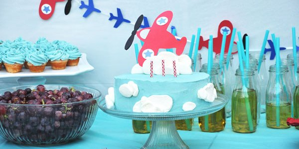Airplane Birthday Party